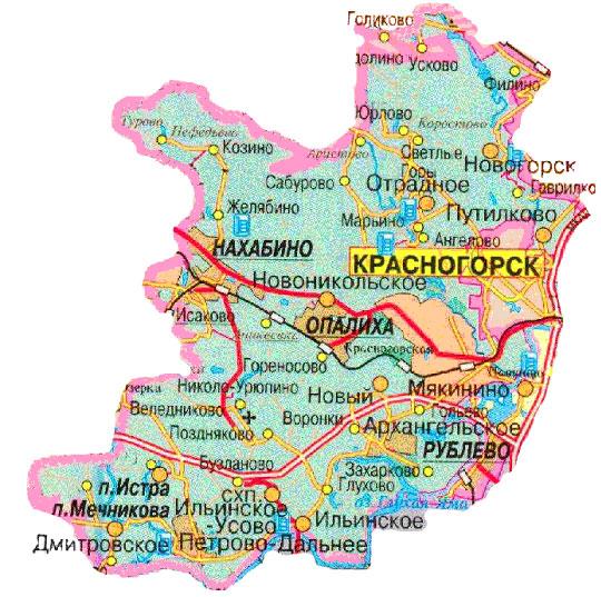 последние город красногорск московской области карта фото этой статье постараемся